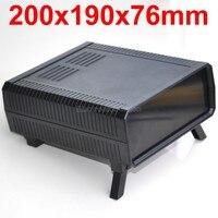 HQ Instrumentation ABS Project Enclosure Box Case Black 200x190x76mm