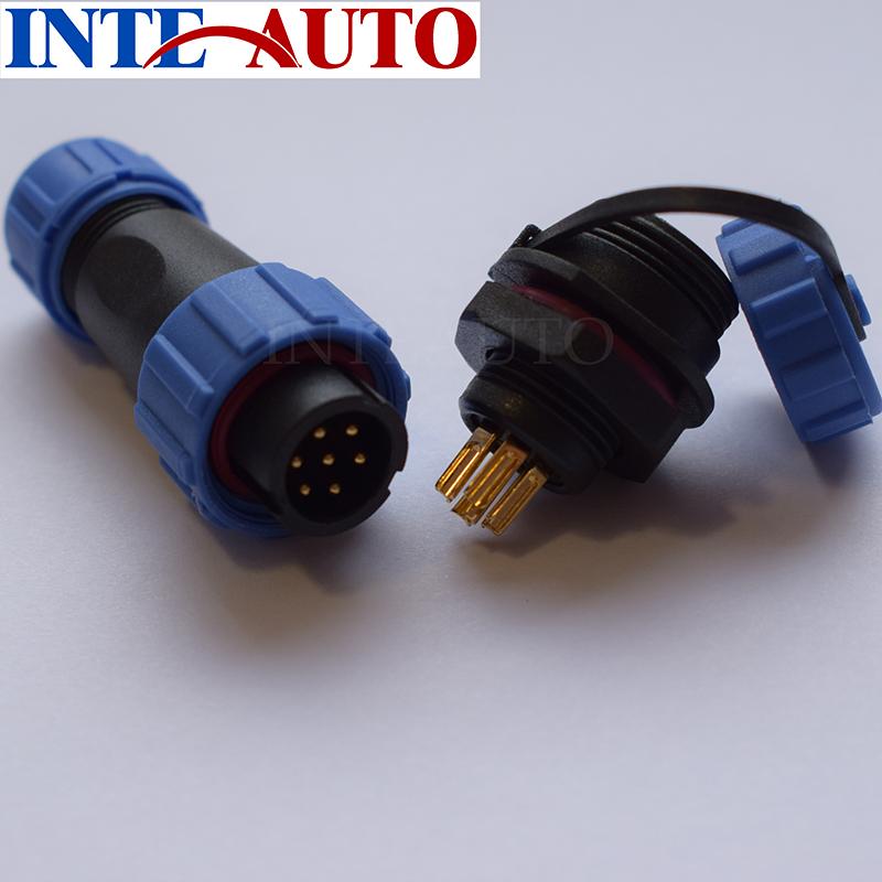 Prise jack dalimentation sur panneau connecteur femelle G713 IP68 Bo/îte de jonction /à quatre voies /étanche for prot/éger la carte de circuit imprim/é