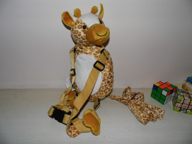 Giraffe Buddy Harness goldbug Harness Plush Toy Backpack