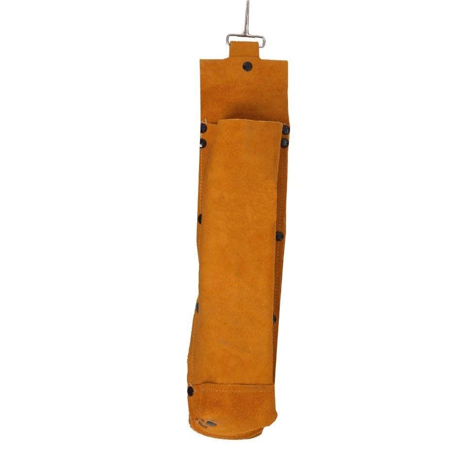 Flame Retardant Split Cow Leather Welding Rod Electrode Bag