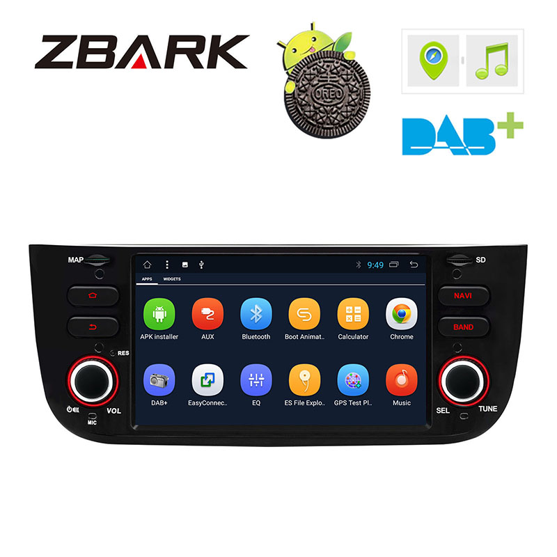 Radio-Player Android-8.1 Fiat Punto 310/linea GPS Wifi Car Canbus for 199 DAB YHLYT3L