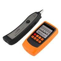 Probador de Cable de alta calidad rastreador línea de teléfono buscador de red RJ11 RJ45 trazador de alambre promoción novedosa
