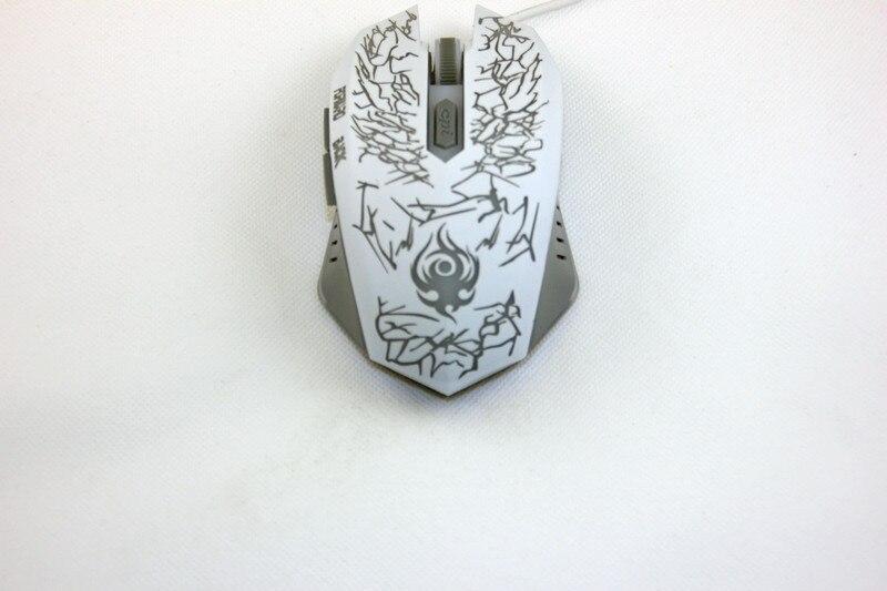 Wired gaming mouse עכבר USB עבור משחקי וידאו DPI 800-1200-1600-2400 מתכוונן 6 מפתחות מתנות קידום מכירות על מכירת