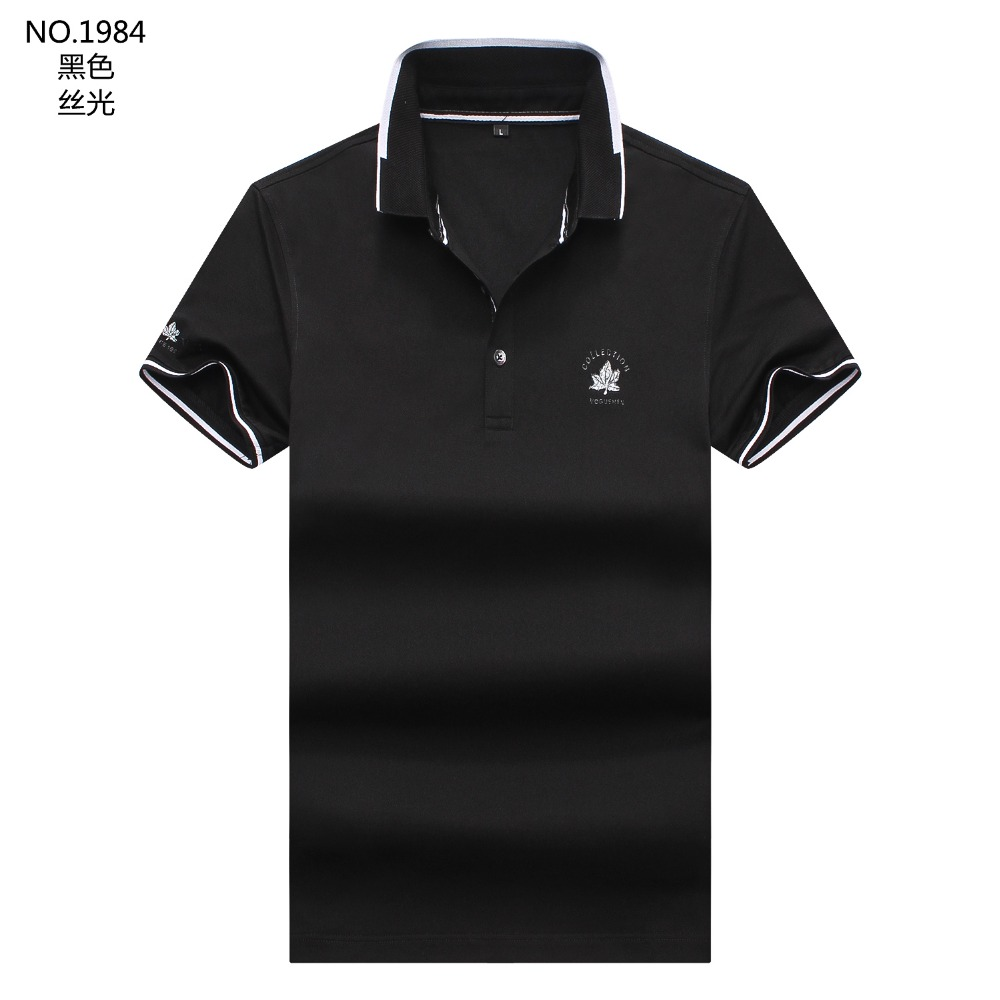 Fashion Breathable Brand New 2019 Summer Arrived   Polo   Shirts Short Sleeves Men Classic Design Solid Color M-3XL