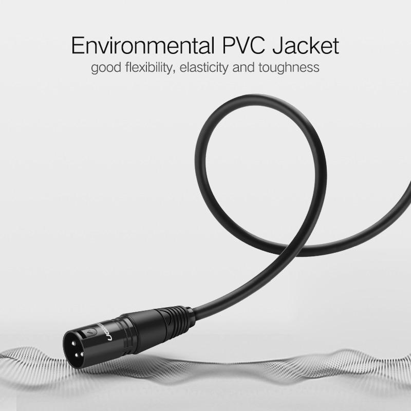 Ugreen XLR Kabel Mikrofon Audio Sound Kanone Kabel Xlr stecker auf ...