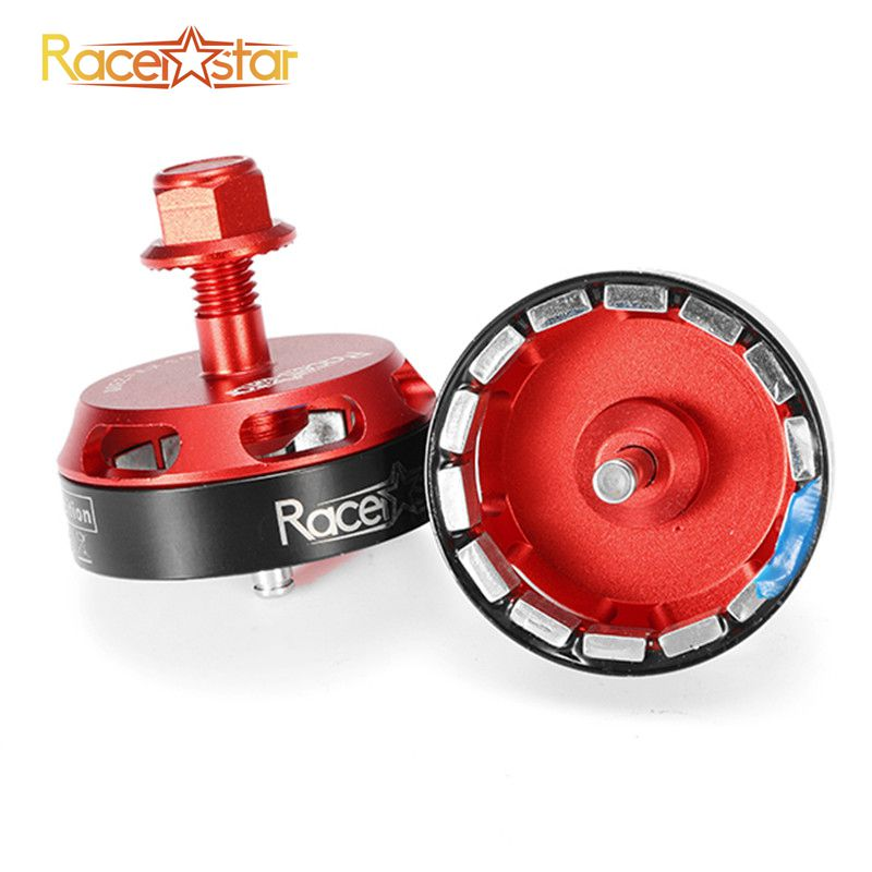 Racerstar Motor Rotor For <font><b>BR2205</b></font> 2300KV 2600KV Brushless Motor Red For RC FPV Racing Camera Drone Spare Parts Accessories image