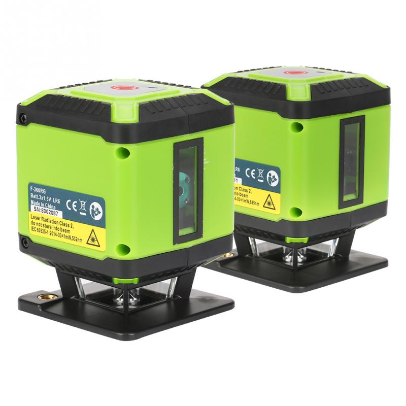 Red Beam Floor Laser Level For Tile Laying Square Leveling Cross Line 360 Degrees Coverage Horizontal In Levels From Tools On