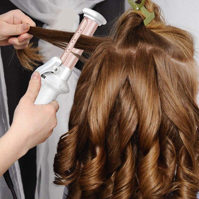 mini modelador de cabelo para cachos soltos usb recarregável portab