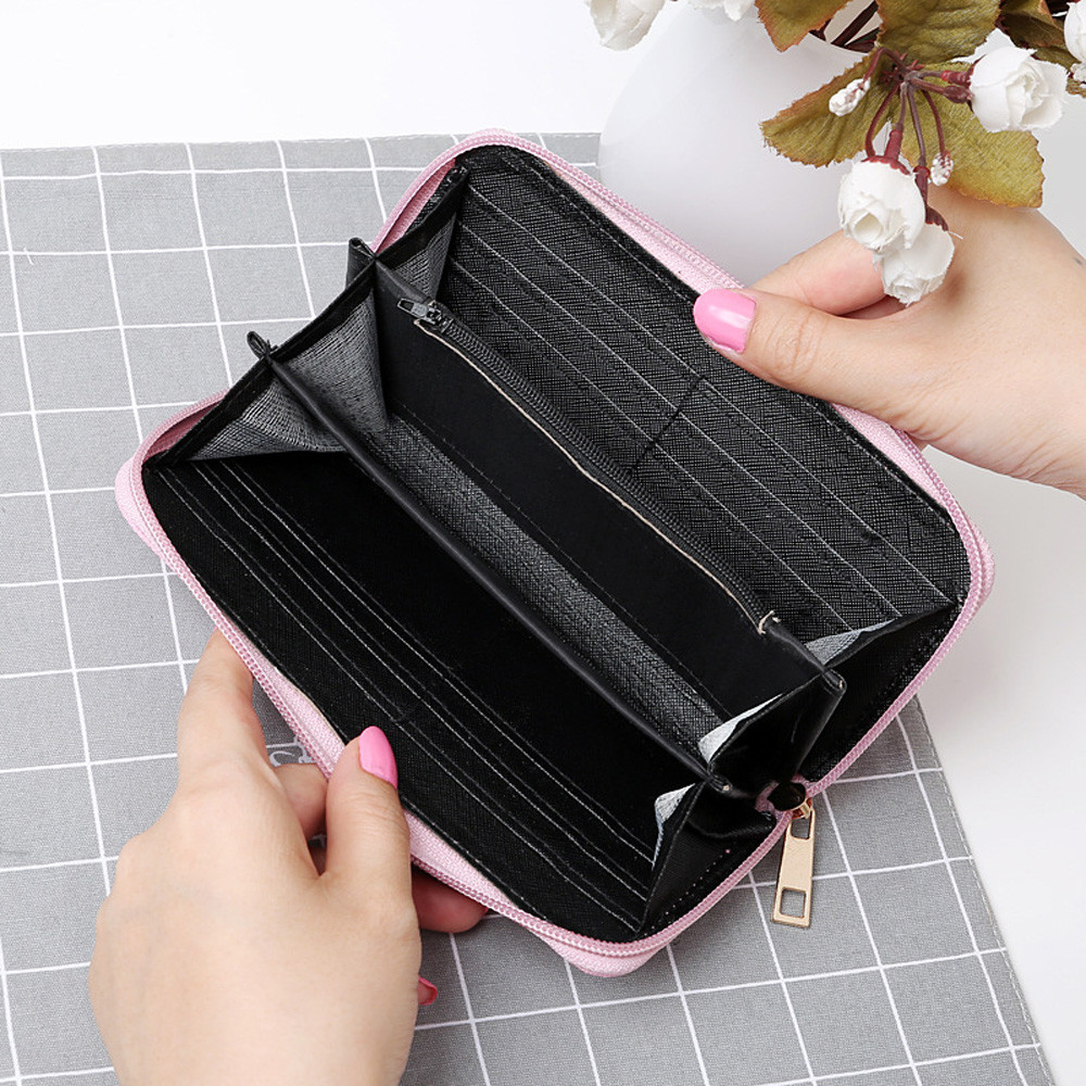 Aelicy 2018 New Design Fashion Women Oxford Wallet Famous Brand Wallet Women High Quality Whole Sale Womens Purses And Hand Bag