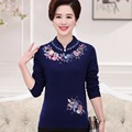 New 2016 pull femme hiver embroidery floral high quality womens sweaters fashion autumn warm hot sale pullover