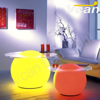 Free Shipping Beautiful flashing color change remote control Waterproof  to pool LED Ball Lamp 20cm  VC-B200