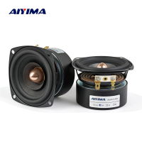 AIYIMA 2Pcs 3 Inch Audio Speaker 4Ohm 8Ohm 15W Full Range Speaker HIFI Treble Mediant Bass Loudspeaker DIY