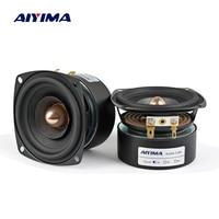 AIYIMA 2Pcs 3 Inch Audio Speaker 4Ohm 8Ohm 15W Full Range Speaker HIFI Treble Mediant Bass Loudspeaker DIY