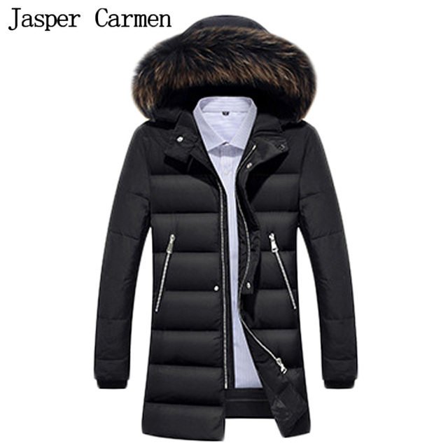Aliexpress.com : Buy Free shipping Men's Down Jacket Fur Collar ...