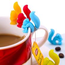 Новая Улитка сеточка-белка для заваривания чая чашка чая висячая сумка распознаватель устройство приготовления чайные, кофейные инструменты цвет случайным образом