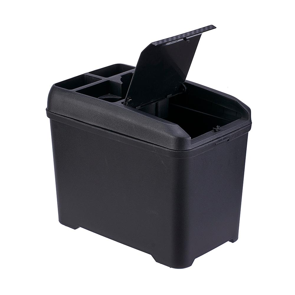 Car Trash Bin Multi-Function Auto Trash Can Interior Storage Box Cup Drink Holder