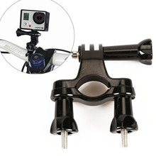 HONGDAK GoPro accessories Bike Motorcycle Handlebar Seatpost Pole Mount 3 Way Adjustable Pivot Arm For Gopro