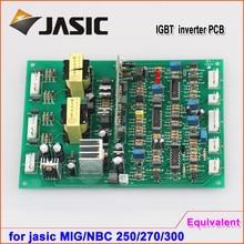 Jasic tyep NBC MIG 250270 300 пластина IGBT однотрубный газовый экранированный сварочный аппарат приводная плата мастер-плата управления