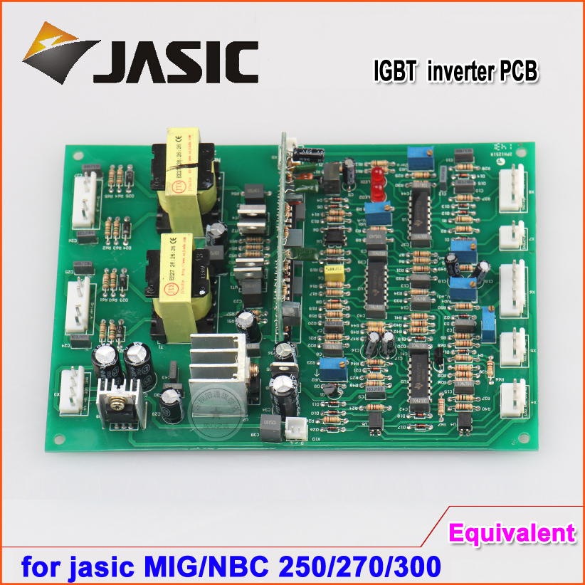 Jasic tyep NBC MIG 250,270 300 plate IGBT single pipe gas shielded welding machine drive board master control  circuit board electric welding machine circuit board fittings power supply board zx7 200 250 double voltage base plate