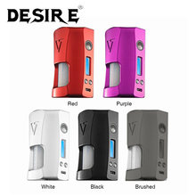 New Original Desire Rage 155W TC Squonk MOD with 7ml Squonk Bottle Max 155W Powered By Dual 18650 Battery Vape Box Mod vs Drag 2(China)