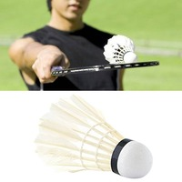 set Professional Goose Feather Badminton Competition Gaming Shuttlecock