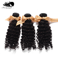 "7A Mocha Hair:Mocha Virgin Brazilian Hair Extension ,Deep Wave ,12""-28"",Mix Size 3pcs/lot ,Mocha Hair Products"
