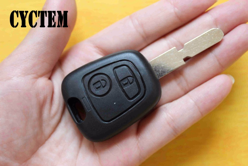 Mini Black Car Leather Key Holder Remote Cover Case Keychain For Peugeot 508 XU