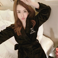 [3.8] цветочные халат femme зима норки вышитые халат Камелии чистый Корейский леди сексуальная мода халат кимоно