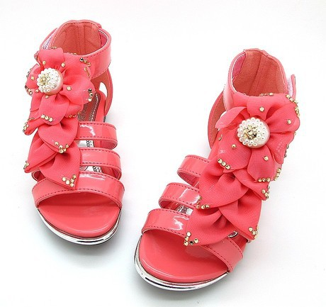 5ba08019e68 Girl Child Sandals Candy Color Silk Flower Princess shoes Fashion children  shoes sandals for girls Hot sale Stock Outlet-in Sandals from Mother   Kids  on ...