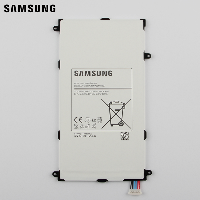 Samsung Original Replacement Battery T4800E For Samsung Galaxy Tab Pro 8.4 in T320 T321 T325 SM-T321 Tablet Battery 4800mAh