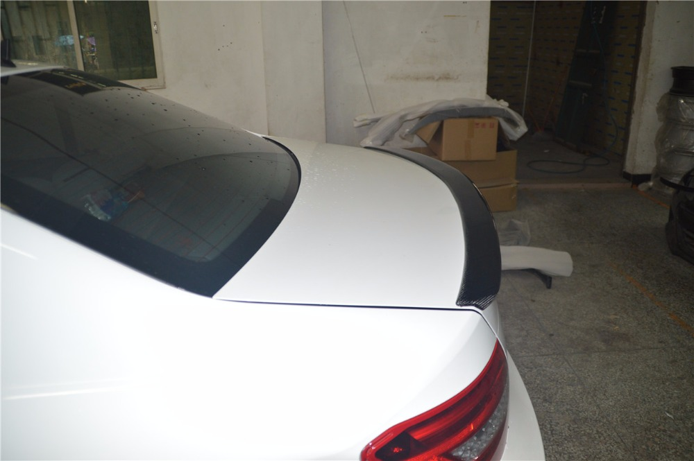 Car styling carbon fiber rear wing spoiler auto car for for Wing motors automobiles miami fl
