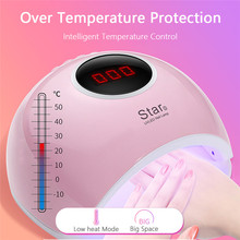 72W Nail Lamp LED UV Ice Lamp Profession Nail Dryer Manicure Nail Art DIY Design Tools For drying All Gel Polish Dryer цена