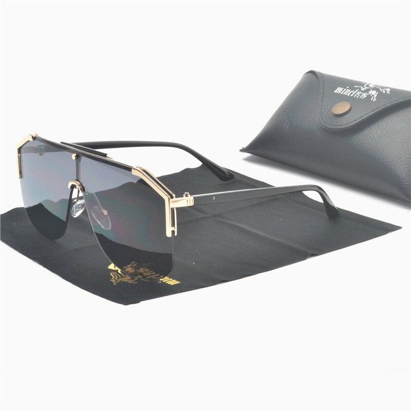 2019 Neue Übergroßen Sonnenbrille Frauen Designer Große Rahmen Sonnenbrille Der Frauen Transparente Gläser Schwarz Farbe Brillen Uv400 Nx