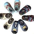 Детская обувь Новорожденных весна Детские Носки Горячие продажи Антипробуксовочная Детские Носки с Резиновой Подошвой WS405