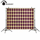 Allenjoy Tile pattern light brown and violet floor background vintage fund for the photo background vinyl photography vinyl