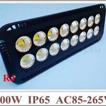 800W Светодиодный прожектор светильник super power и яркий с чашкой отражатель 800 Вт(16*50 Вт) AC85-265V 64000lm IP65 открытый светодиодный прожектор светильник