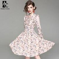 Yaz bahar kadın elbisesi pembe yaprak sarı mavi çiçek desen baskı pembe elbise ruffled omuz beyaz dantel kollu sevimli elbise
