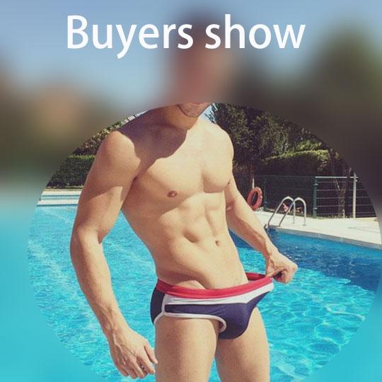 Topdudes.com - Men's Sexy Low Waist Swimwear with Push-up Pad