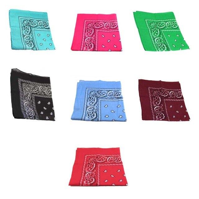 Paquete de 3 unids hombres / mujeres de pañuelo Paisley patrón de la ...