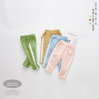 Hot Sale 2018 Casual Kids Boys Clothing Pants Long 100 Cotton Boys Girls Trousers Sports Child
