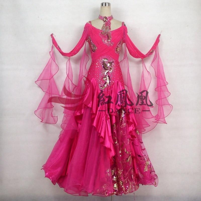 Vestido de la competencia de baile liso de salón de baile - Novedad
