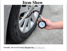 Auto Car Bike Motor Tyre Air Pressure Gauge Meter Tire Pressure Gauge 0-100 PSI Vehicle Tire Pressure Tester Monitoring System все цены