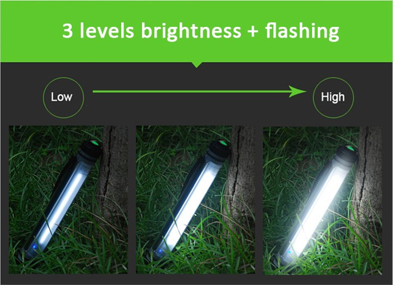 HTB1aJt7XKuSBuNjSsplq6ze8pXaH - 450LM Camping Light IP68 Waterproof for Fishing Hiking 4Mode Dimming Portable 10500mAh Rechargeable Battery LED Outdoor Lamp