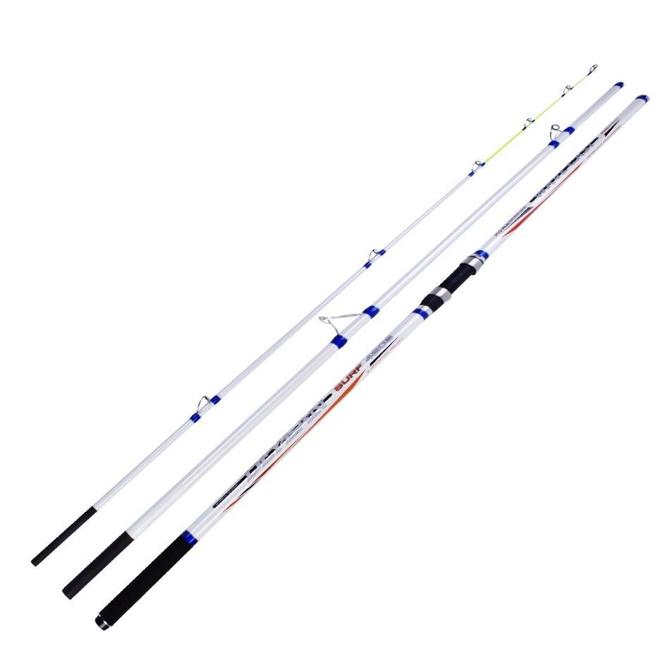 4.2 m 30 T 100g-300g poids de moulage haute teneur en carbone fibre de Surf tige de Surf Ucatchok 3 Sections