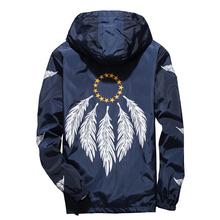 Plus Size 6XL 7XL New Spring Autumn Bomber Jacket Men Young Casual Slim Windbreaker Zipper Thin