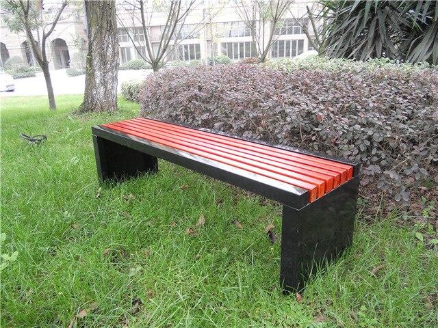 Chaises en plein air parc jardin chaises en fonte bois conservateur ...