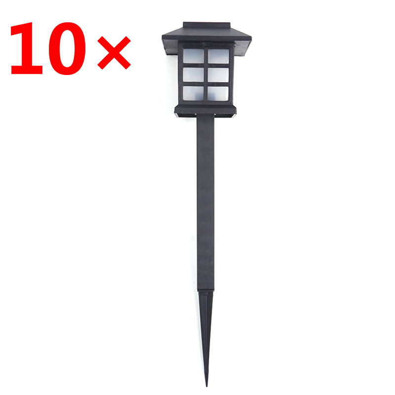 10 pcs lot Outdoor Solar Garden Light Waterproof LED Night Light Solar Garden Lawn Lamp Pathway