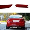2PCS Car LED Rear Bumper Reflectors Light Brake Parking Warning tail Fog Lights For BMW 3 4 Series F30 F31 F34 F32 F33 F36