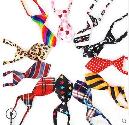 200 개/몫 새로운 도착 애완 동물 넥타이 개 넥타이 bowtie 도매 믹스 30 새로운 패턴 폴리 에스터 귀여운 강아지 나비 넥타이 개 미용 제품-에서강아지 액세사리부터 홈 & 가든 의  그룹 1