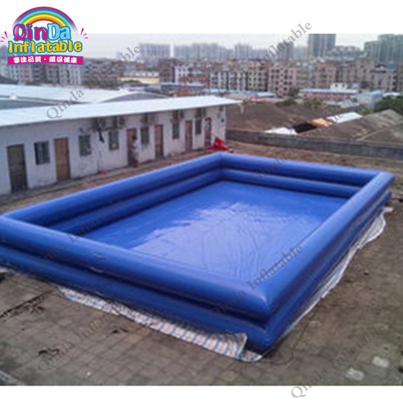 Inflatable swimming pool large inflatable swimming pools for Big swimming pools